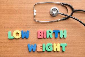 Sue for low birth weight injury in NJ